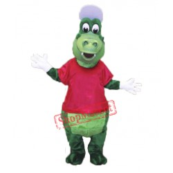 Sport Alligator Mascot Costume Free Shipping