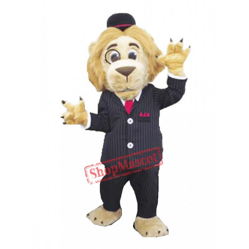 Solicitor Lion Mascot Costume
