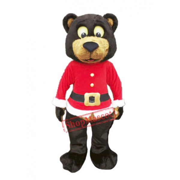 Christmas Bear Mascot Costume