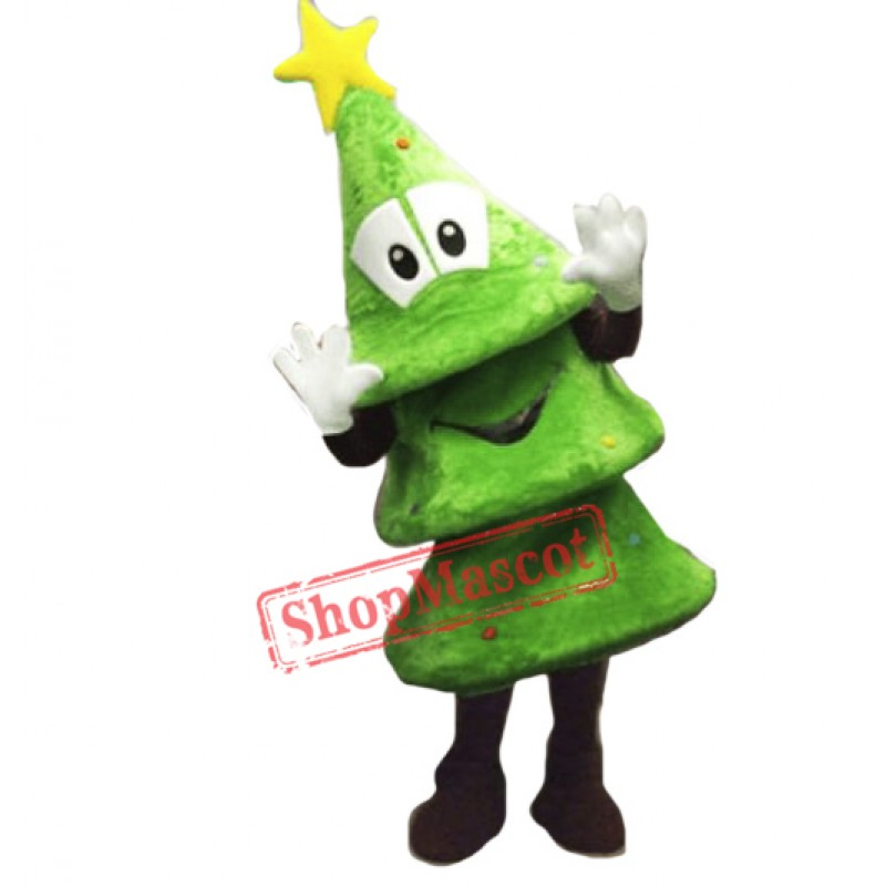 High Quality Christmas Tree Mascot Costume