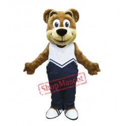 Sporty Bear Mascot Costume