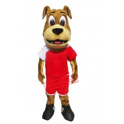 Lovely Bulldog Mascot Costume
