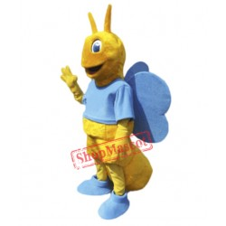 High Quality Butterfly Mascot Costume