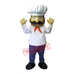 Chef Man Mascot Costume