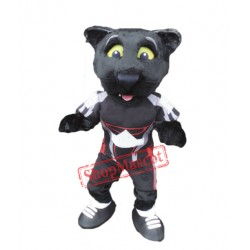 College Black Panther Mascot Costume Free Shipping
