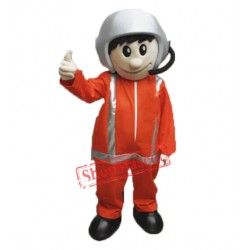 High Quality Pilot Mascot Costume