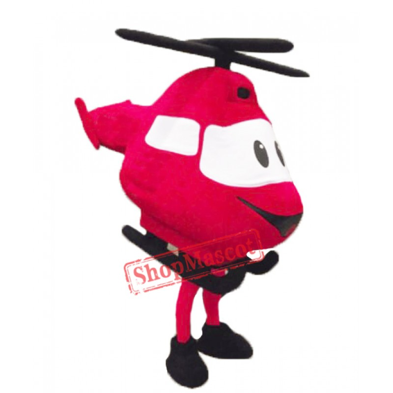 High Quality Helicopter Mascot Costume
