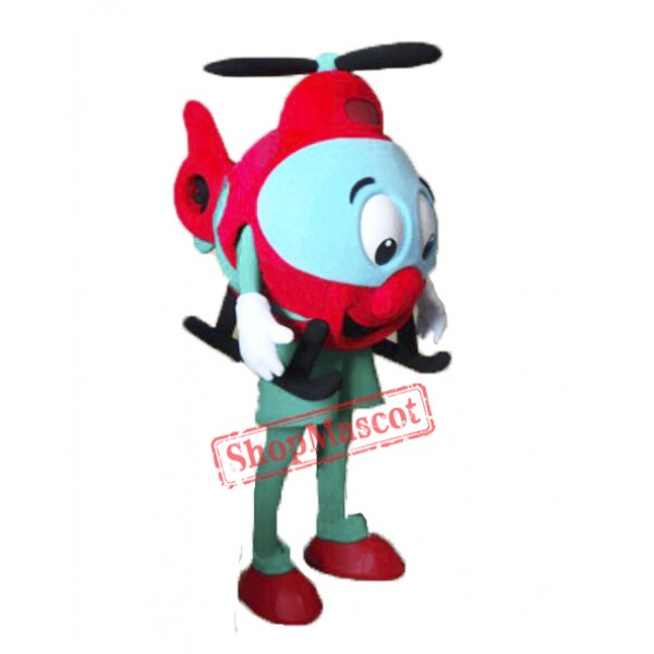 Helicopter Mascot Costume
