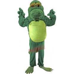 Old Alligator Mascot Costume