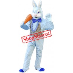 Deluxe Blue Bunny Rabbit Mascot Costume