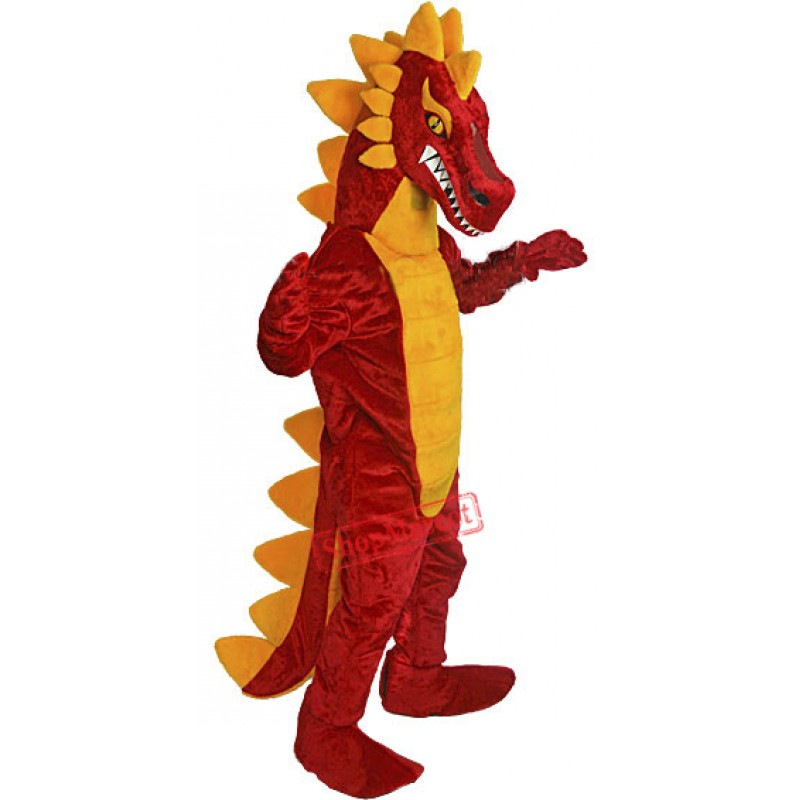 Deluxe Red Dragon Mascot Costume