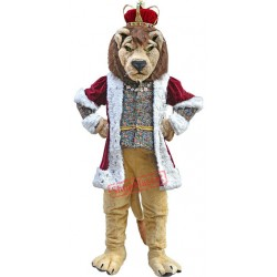 Deluxe King Lion Mascot Costume