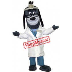 Dr Health Hound Dog Mascot Costume