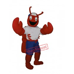 Sport Lobster Mascot Costume