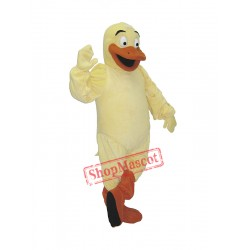 High Quality Yellow Duck Mascot Costume