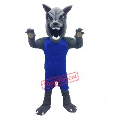 High School Wolf Mascot Costume