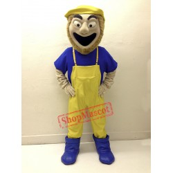 Fisherman Mascot Costume