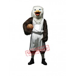 College Basketball Eagle Mascot Costume