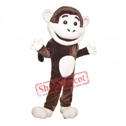 College Monkey Mascot Costume