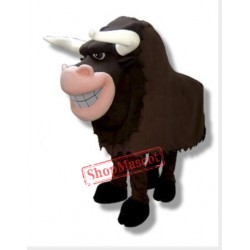 Two Person Bull Mascot Costume