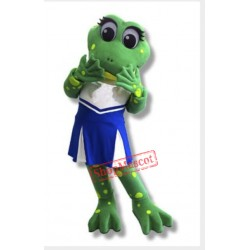 Lily Frog Mascot Costume