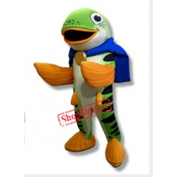 Salmon Fish Mascot Costume