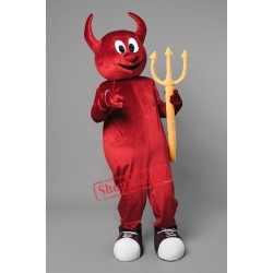 Halloween Devil Mascot Costume