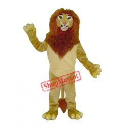The King Lion Mascot Costume Free Shipping