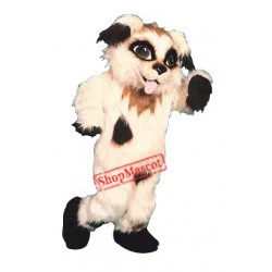 Shaggy Puppy Dog Mascot Costume