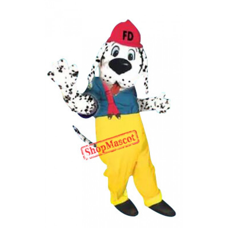 FD Dog Mascot Costume