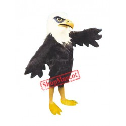 Deluxe Furry Eagle Mascot Costume