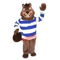 High School Beaver Mascot Costume