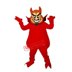 Deluxe Red Devil Mascot Costume