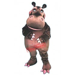 Deluxe Happy Hippo Mascot Costume