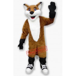 Happy Fox Mascot Costume Free Shipping