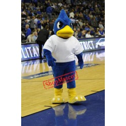College Blue Bird Mascot Costume