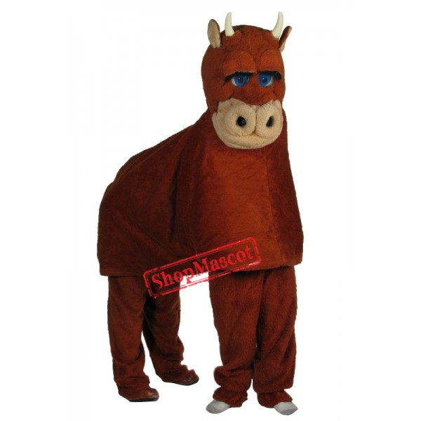 Two Person Bull Mascot Costume Free Shipping