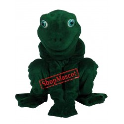 High Quality Realistic Frog  Mascot Costume