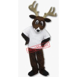 College Deer Mascot Costume