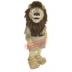 College Lion Mascot Costume Free Shipping