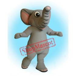 High Quality Realistic Elephant Mascot Costume