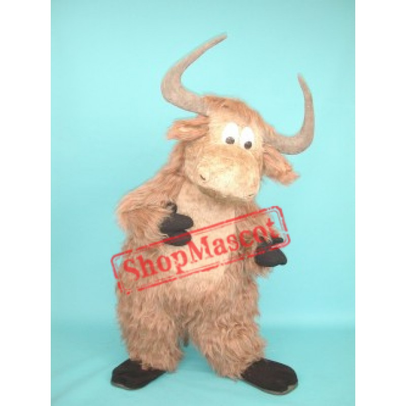 High Quality Yak Mascot Costume