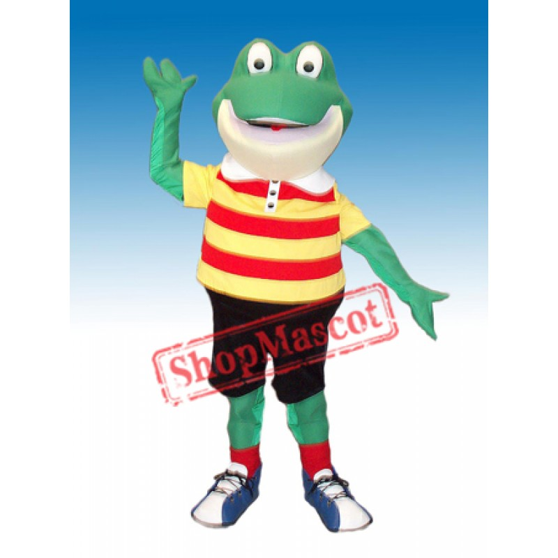 Happy Froggy Mascot Costume