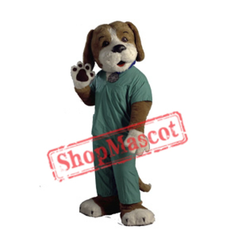 Health Hound Dog Mascot Costume