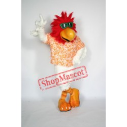 Cool Rooster Mascot Costume