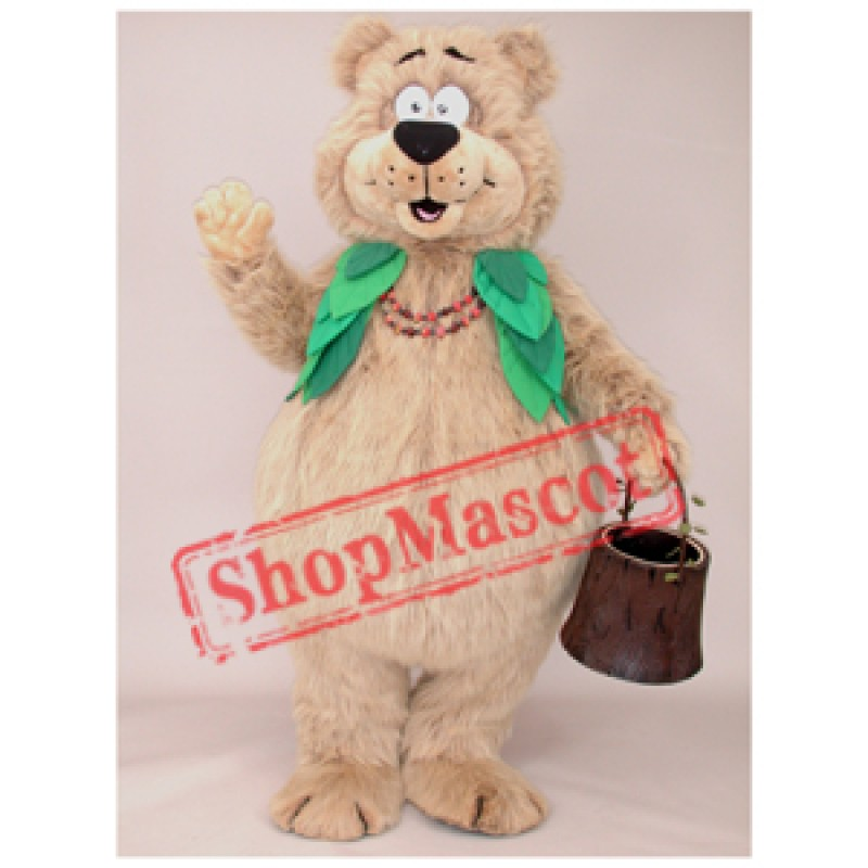 Berry Bear Mascot Costume