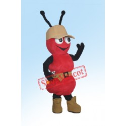 Red Ant Mascot Costume