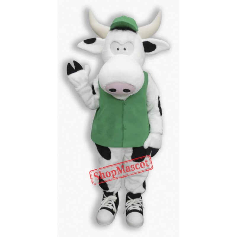 Cute  Lightweight Cow Mascot Costume