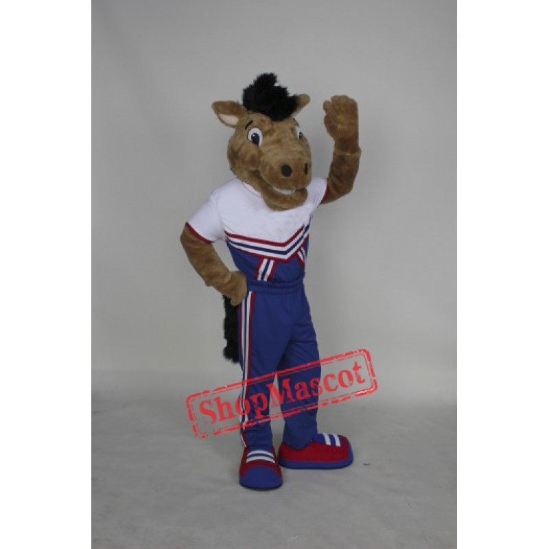 High Quality College Mustang Mascot Costume