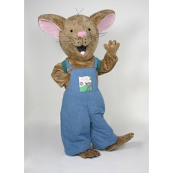 Happy Mouse Mascot Costume